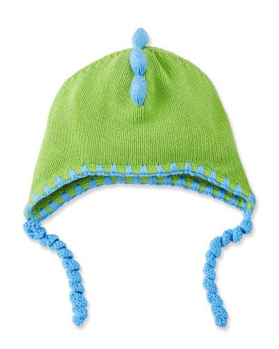 Kids' Knit T-Rex Hat