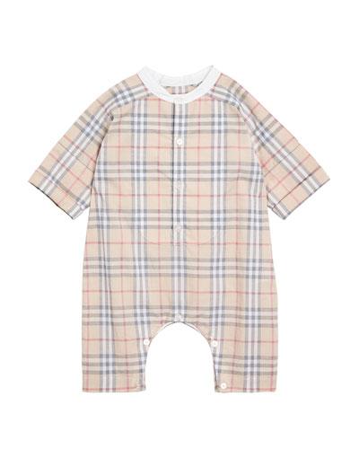 Colton Check Shortall, Size 1-18 Months