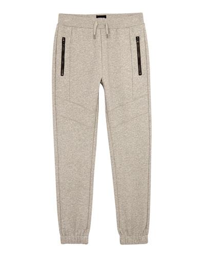 Future Zip-Pockets Jogger Pants, Size S-XL