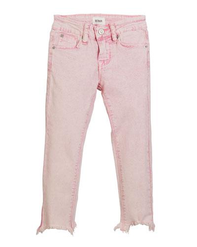 Girls' Wren Raw-Hem Skinny Jeans  Size 4-6X