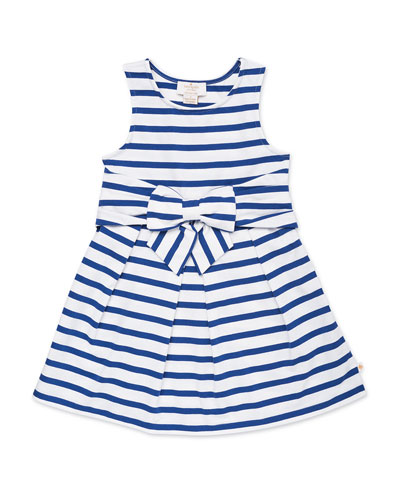 jillian striped sleeveless dress  size 2-6x