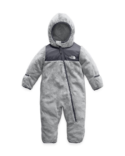 Oso Fleece Hooded Coverall, Size 6-24 Months