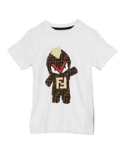 FF Monster Graphic Tee  Size 4-14