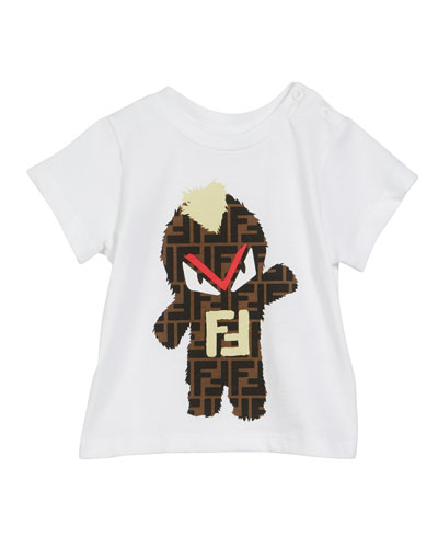 FF Monster Graphic Tee  Size 6-24 Months