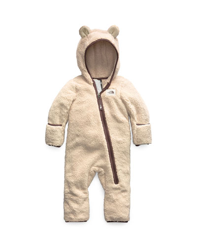 Campshire Sherpa Fleece Hooded Coverall, Size 6-24 Months