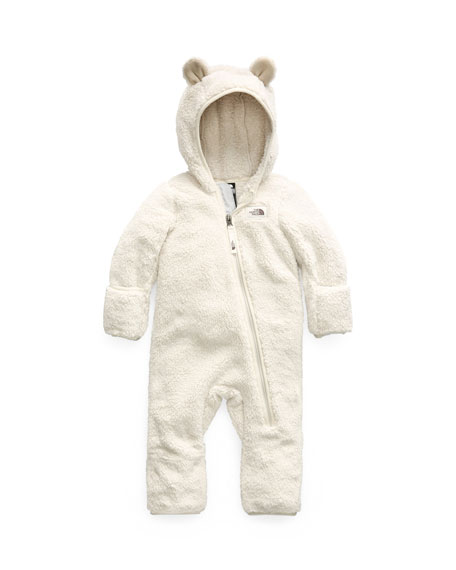 newest f4a48 2cc5a Campshire Sherpa Fleece Hooded Coverall Size 6-24 Months