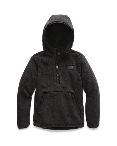Campshire Sherpa Fleece Hooded Half-Zip Pullover, Size XXS-XL