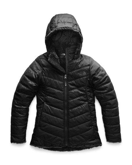 The North Face Mossbud Swirl Reversible Parka, Size