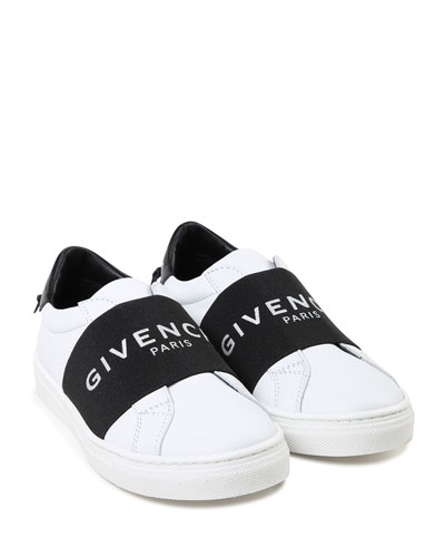 Two-Tone Logo Band Sneakers  Toddler