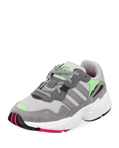 Adidas Yung-96 Colorblock Sneakers, Kids