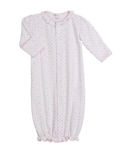 Princess Castle Printed Convertible Gown, Size Newborn-S