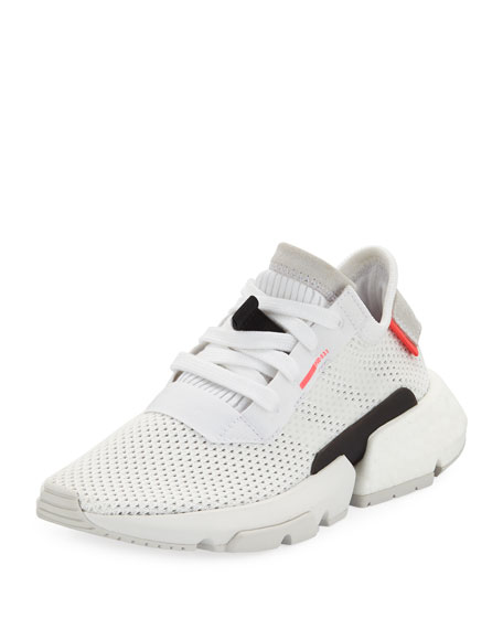 Adidas POD-S3.1 Knit Lace-Up Trainer Sneakers, Kids