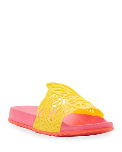 Lia Butterfly Pool Slides  Toddler/Kids