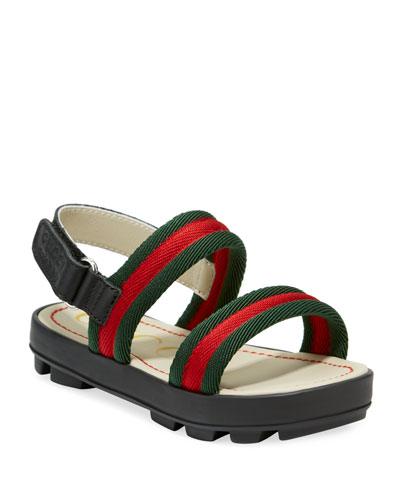 22a12f6631d Sam Web Sandals Baby Toddler Quick Look. Gucci
