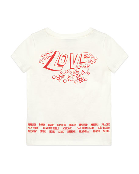 fd399674 Gucci Gucci Soul & Love Short-Sleeve T-Shirt, Size 4-10