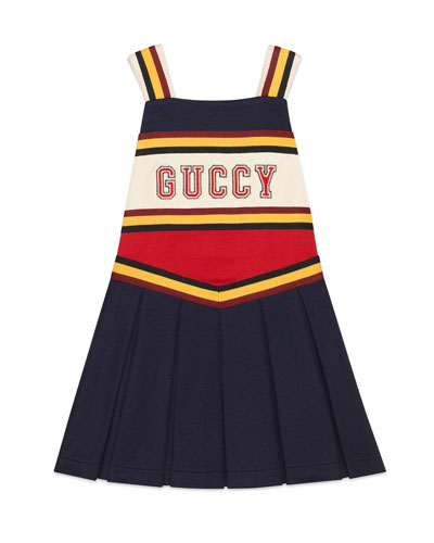 d429736c2b6 Jersey Colorblock Guccy Cheerleader Dress Size 4-12