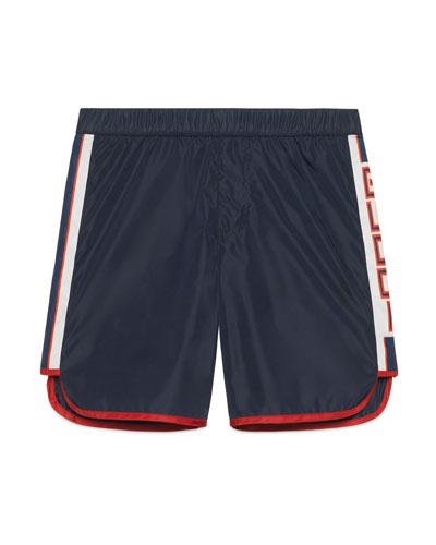 Athletic Shorts w/ Logo Sides  Size 4-12