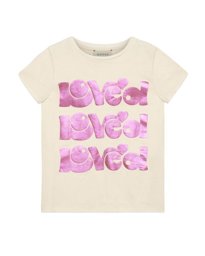 Loved Short-Sleeve T-Shirt  Size 4-10