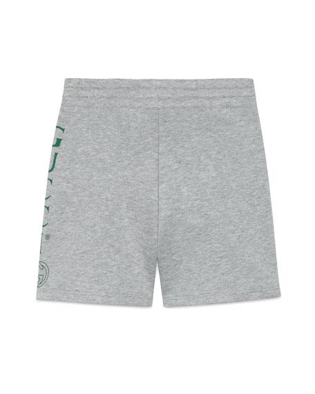 Logo Athletic Shorts, Size 4-10