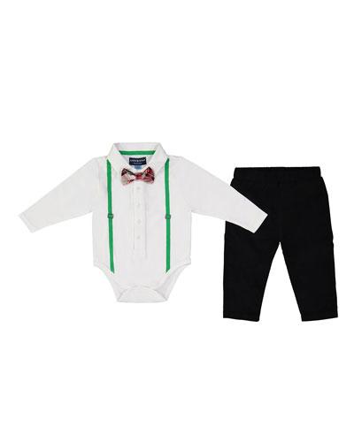 Polo Shirtzie™ w/ Pants, Size 0-24 Months