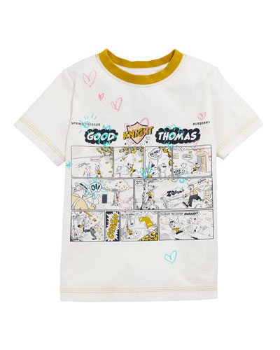 Comic Doodle Graphic Tee  Size 3-14