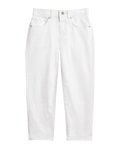 Relaxed Straight-Leg Jeans  Size 3-14