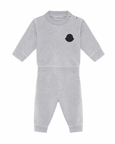 Heathered Sweatshirt w/ Matching Sweatpants  Size 6M-3
