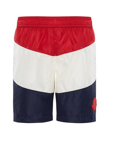 Colorblock Swim Trunks  Size 8-14