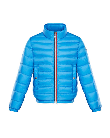 Tarn Quilted Stand-Collar Jacket, Size 8-14