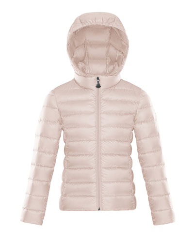 Hooded Zip-Front Coat  Size 4-6