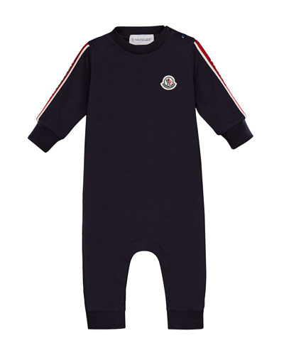 Knit Logo-Arms Coverall  Size 3-24 Months