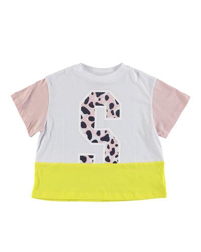 Camo S Colorblock Tee  Size 6-14