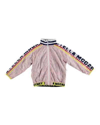 Logo Sports Jacket, Size 6-14