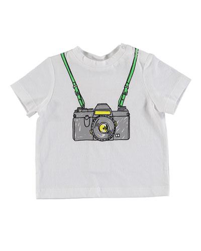 Short-Sleeve Camera Tee  Size 12-36 Months