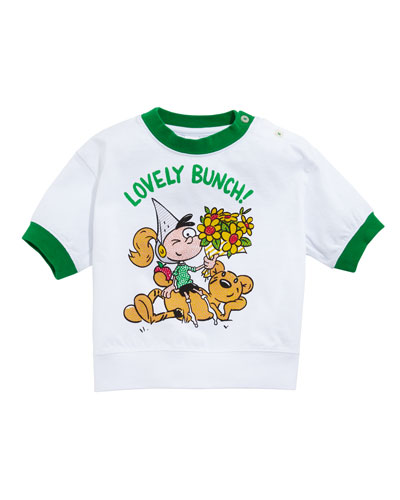 Lovely Bunch Cartoon Graphic Tee  Size 12M-2