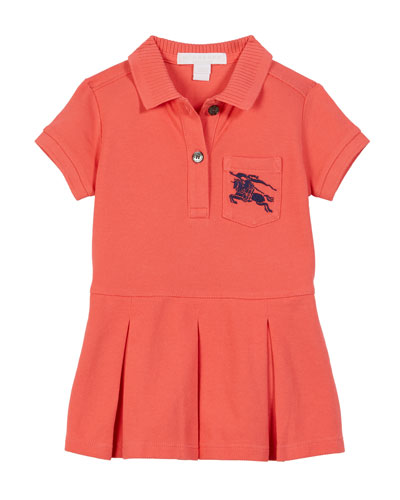 Demelza Knit Polo Dress, Size 6M-2