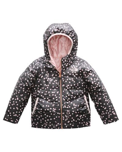 Perrito Reversible Hooded Taffeta Jacket  Size 2-4T