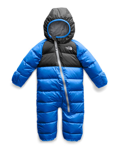 Lil' Snuggler Two-Tone Down Hooded Snowsuit  Size 18-24 Months