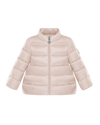 Quilted Stand-Collar Coat  Size 12M-3