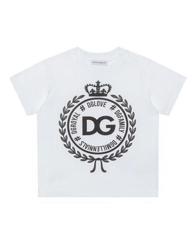 Logo Crest Short-Sleeve T-Shirt  Size 2-6