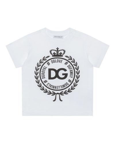 Logo Crest Short-Sleeve T-Shirt  Size 8-12