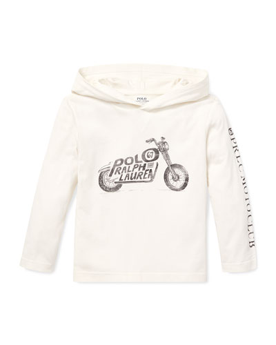Logo Motorcycle Hooded Top, 5-7