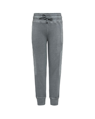 Atticus Quilted Sides Sweatpants  Size 4-12