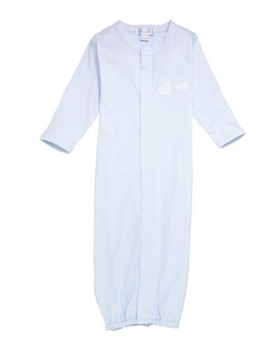 Bunny Hop Pique Convertible Gown  Size Newborn-S