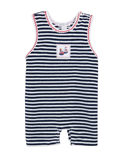 Summer Sails Terry Playsuit  Size 3-24 Months