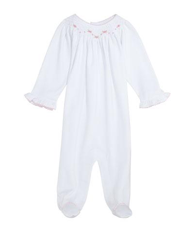 CLB Summer Bishop Pima Footie Playsuit  Size Newborn-9 Months