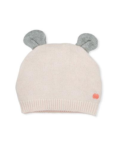 Knit Baby Hat w/ Ears