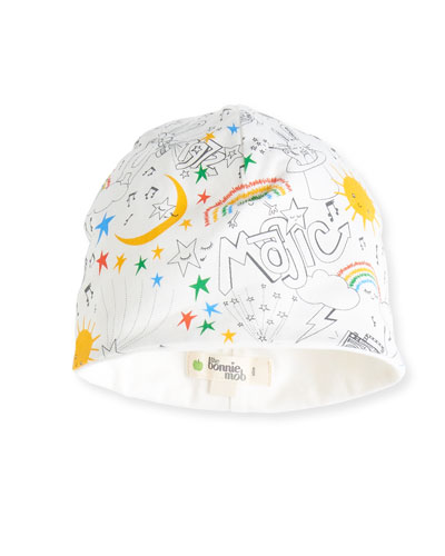 Reversible Magic Jersey Baby Hat