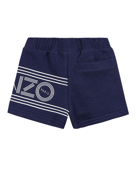 Fleece Logo Bermuda Shorts, Size 12-18 Months