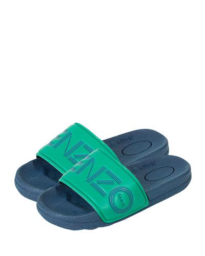 ccc9165caad Logo Slide Sandals Toddler Kids